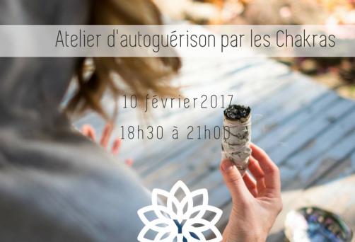 Atelier – Autoguérison par les Chakra avec Andréanne Thibeault