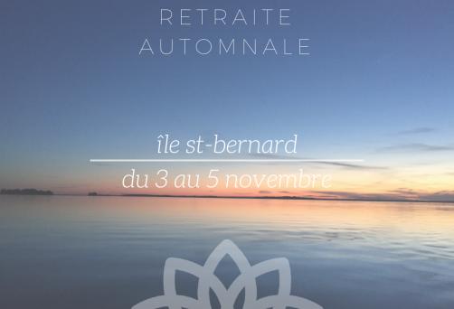 Retraite Automnale – Retour à soi