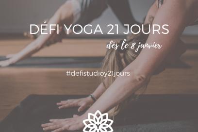 Défi 21 jours de Yoga, pour un bien-être quotidien!